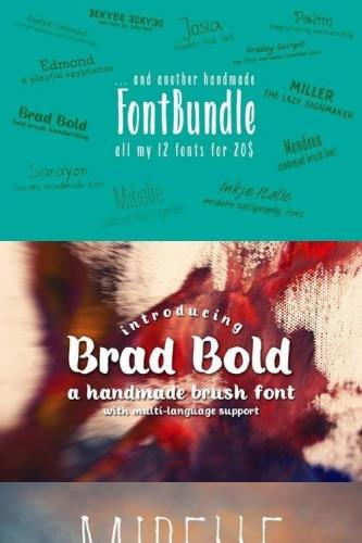 All my fonts