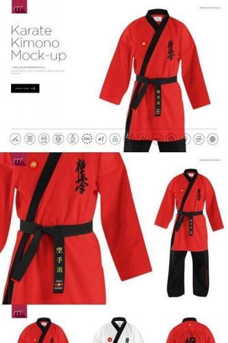 Karate Kimono Mock-up