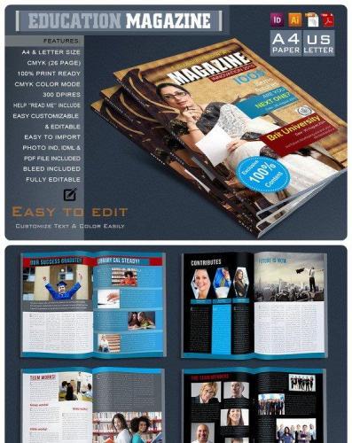 Modern Magazine Template 626353