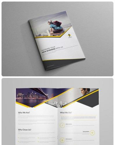 Corporate Business Brochure - 4Page