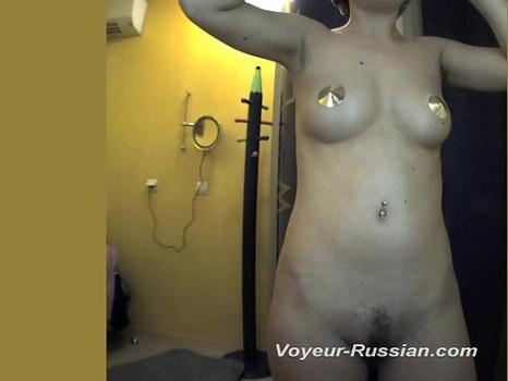 Hidden-Zone.com- Pv588# Tanned brunette with a tight body undressed and examines herself in the mirror. Another succe