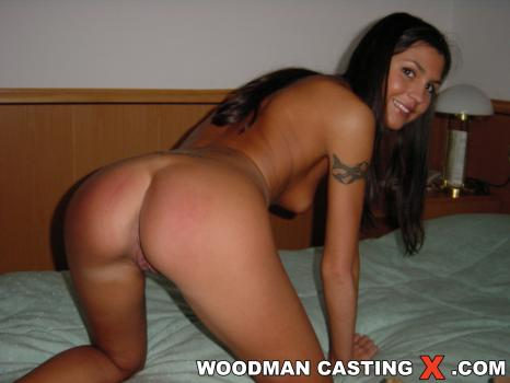 Woodman casting stream